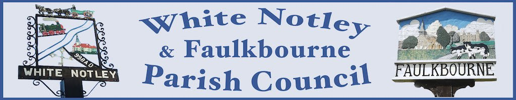 White Notley & Faulkbourne Parish Council logo
